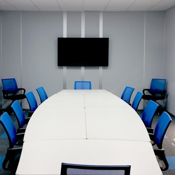 allied modualr interior conference room