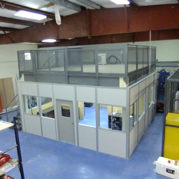 allied modular load bearing office