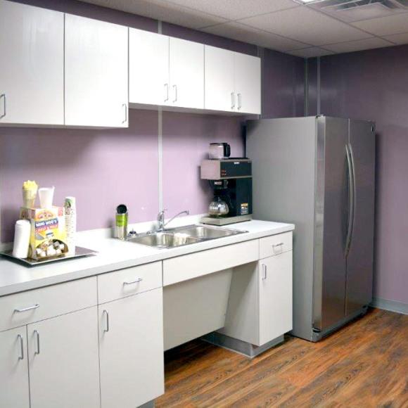 allied modular interior breakroom