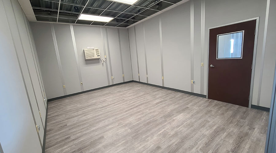 modular office interior
