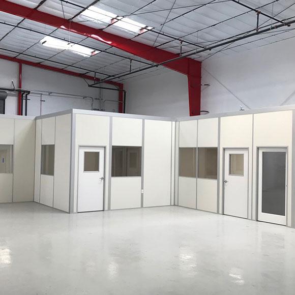 Single Story Warehouse Office