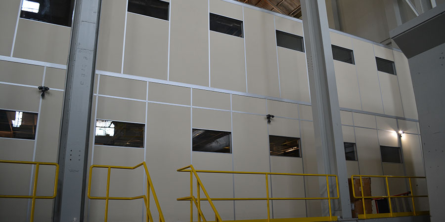2 story modular office