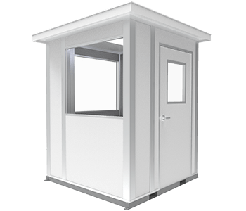 6x6 guardhouse