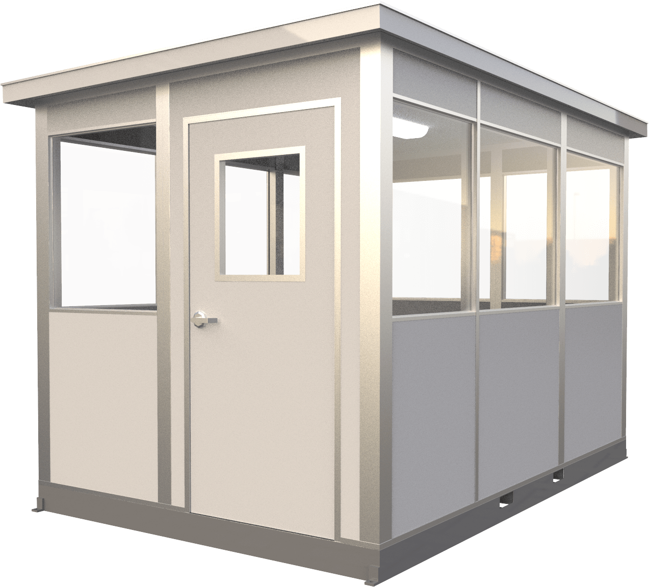 8x12 guardhouse