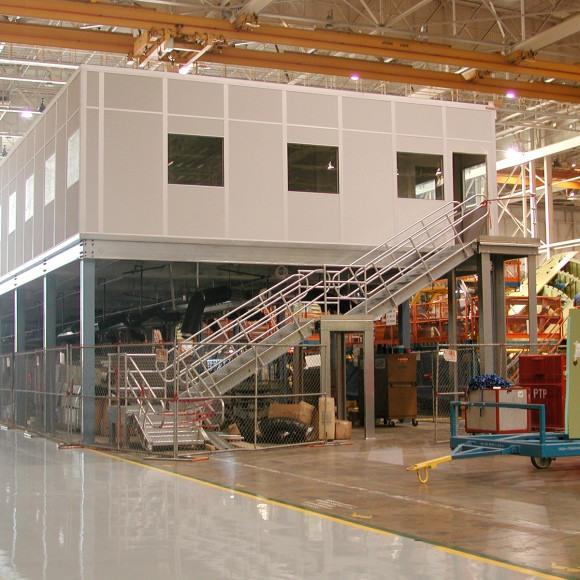 Modular Warehouse Office