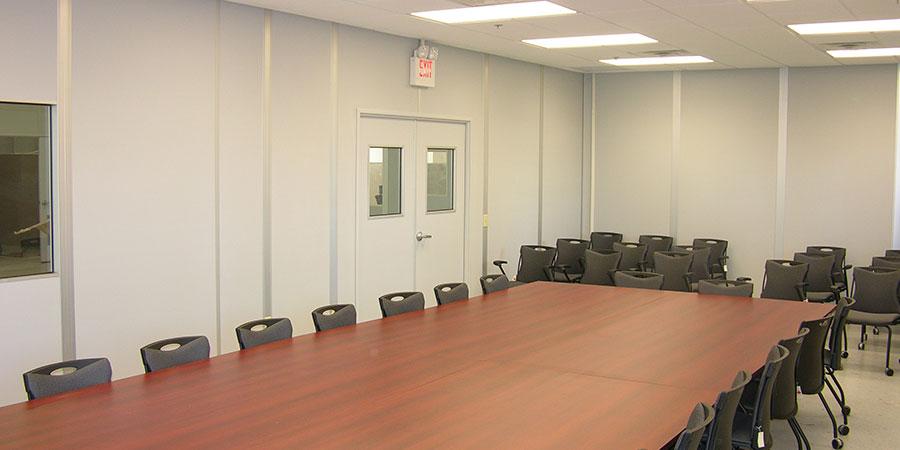 interior modular conference room