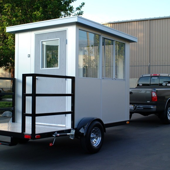 mobile guardhouse