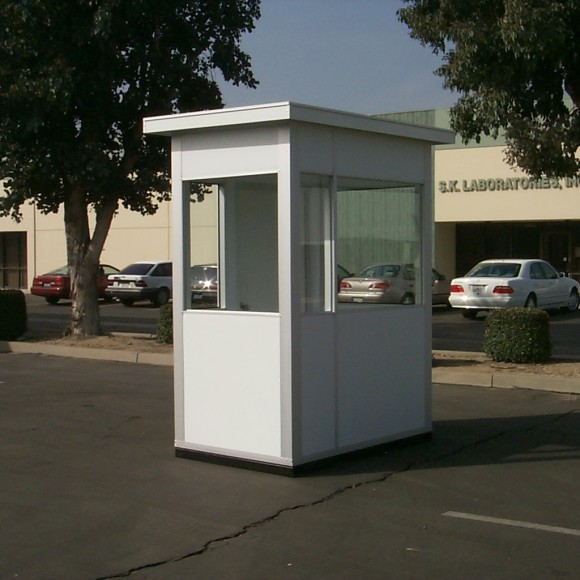 parking attendant booth