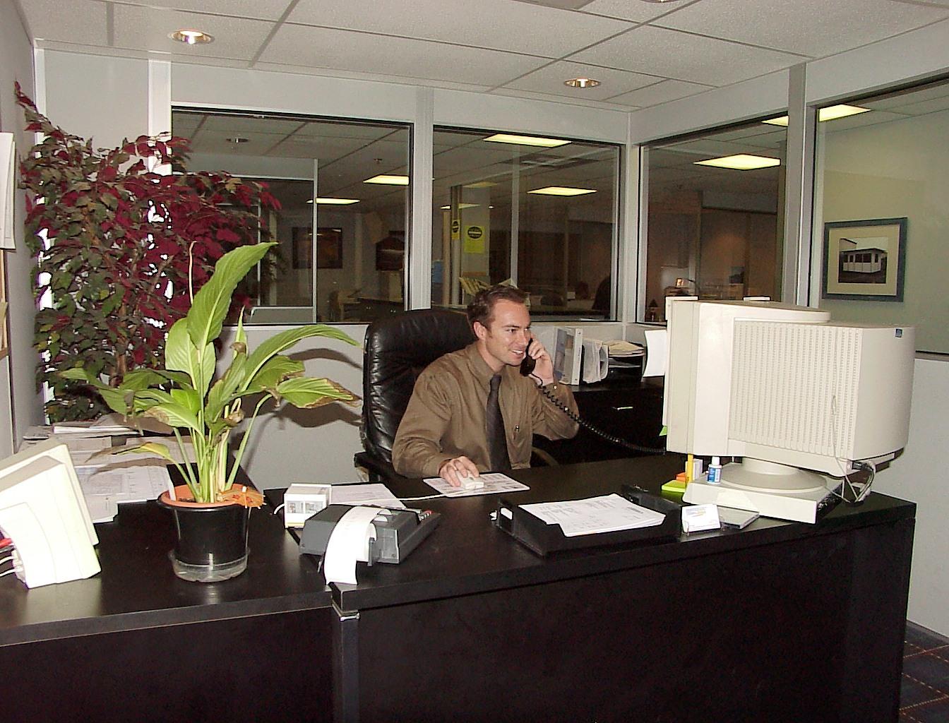 Modular Office Interior