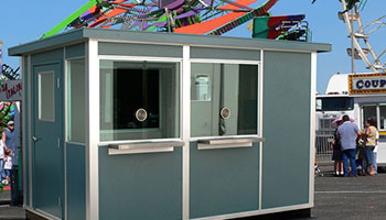 allied modular concession stand