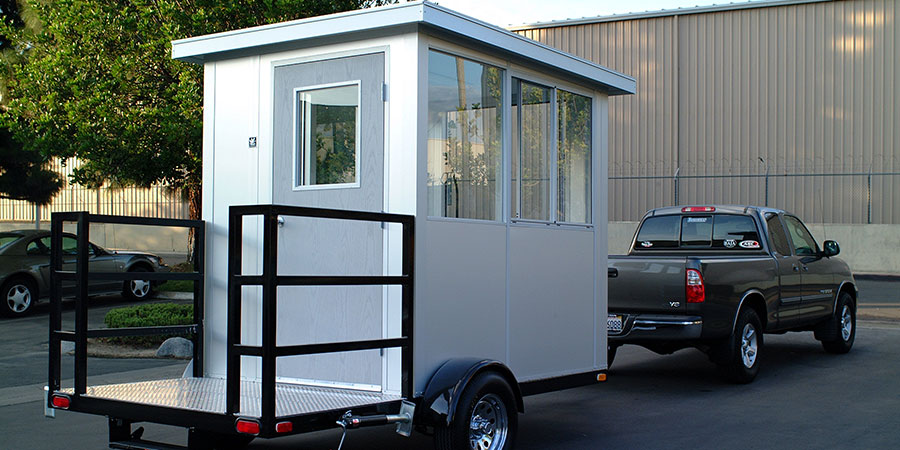 guardhouse trailer