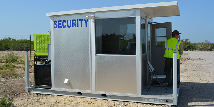 allied modular security booth