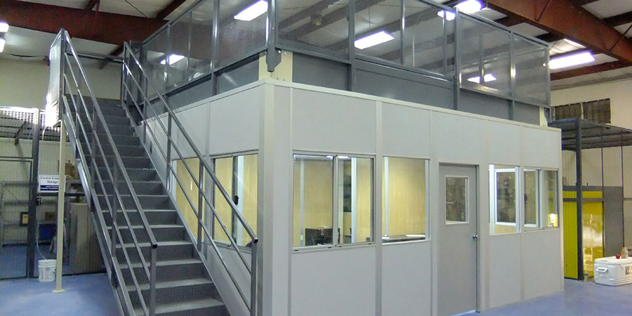 modular office load bearing
