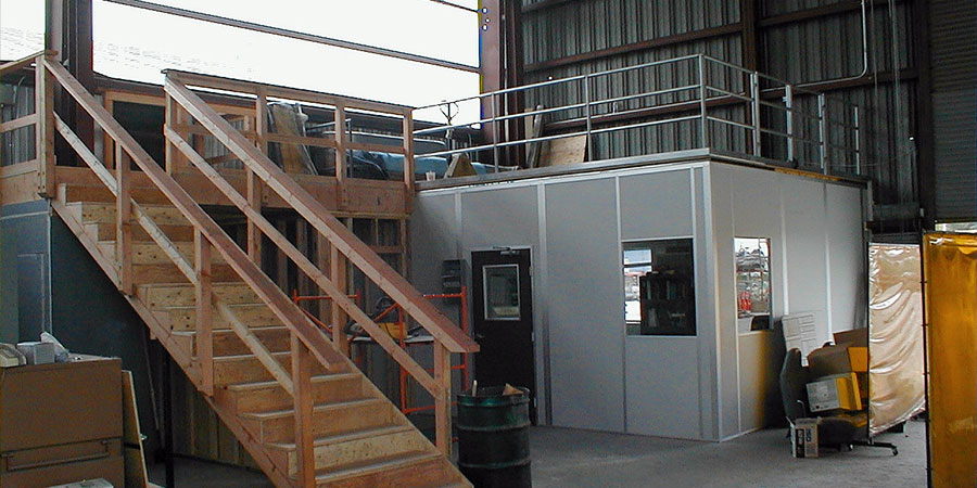 Allied Modular Load Bearing Office