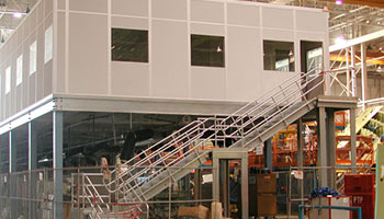allied modular mezzanine office