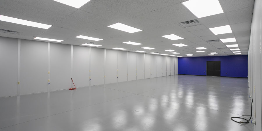 big modular warehouse office