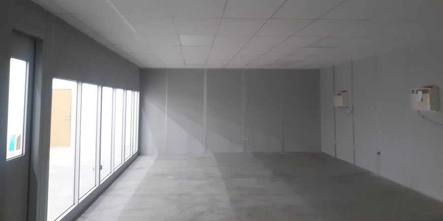 modular warehouse office
