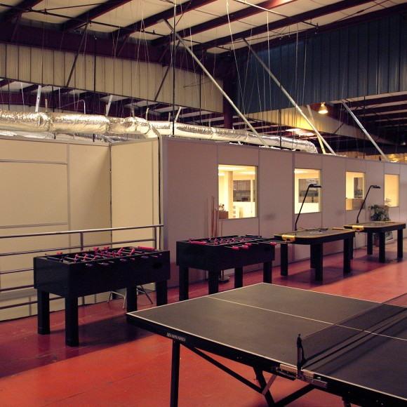 Modular Recreation Room