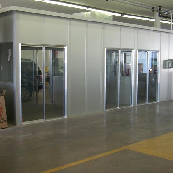 Modular Service Booth