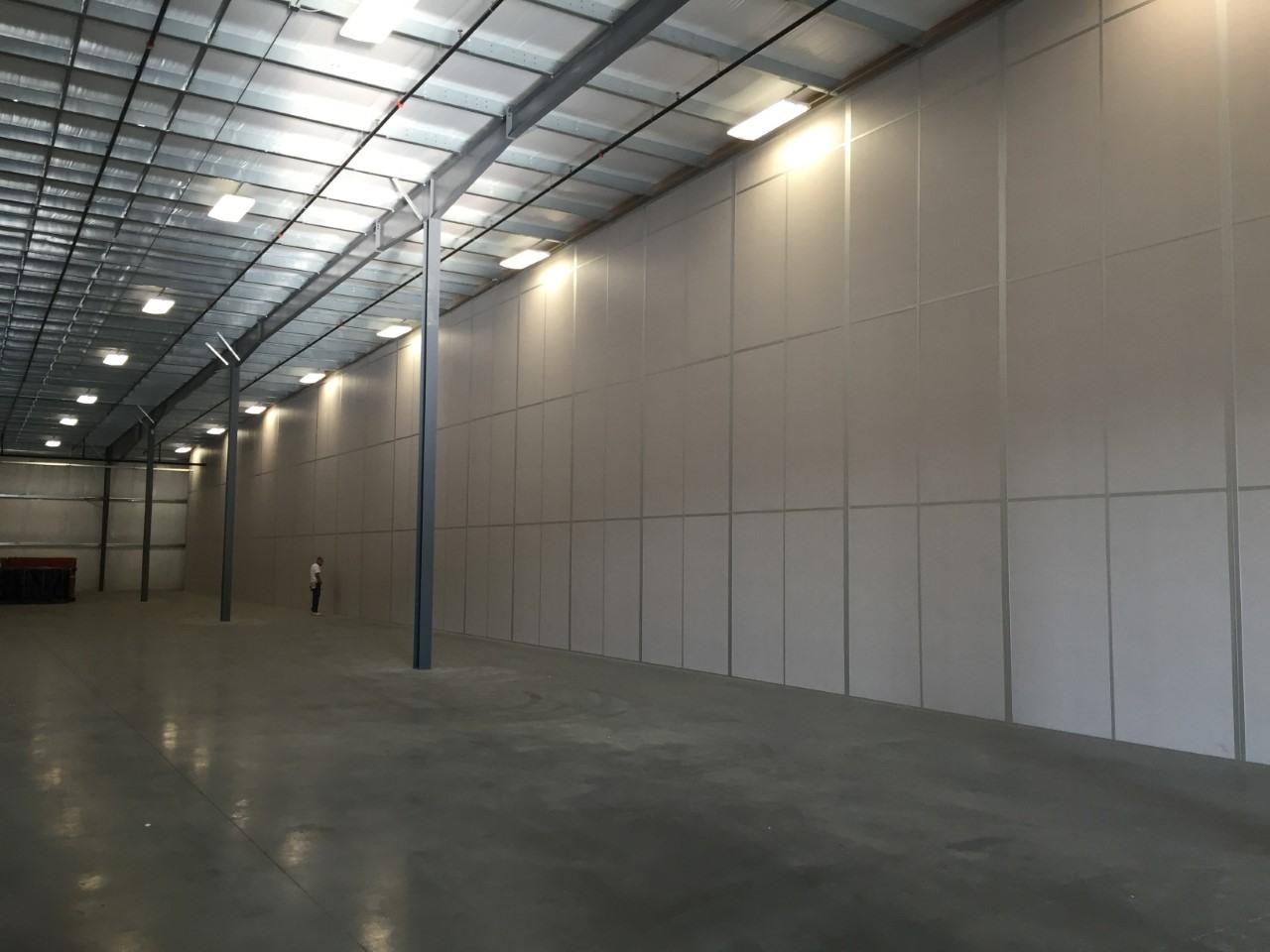 Allied Modular Tall Walls Warehouse